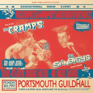 Sting-Rays vs. The Cramps 'FuckedupnsteaminginPortsmouthGreatBritainXXX'  LP