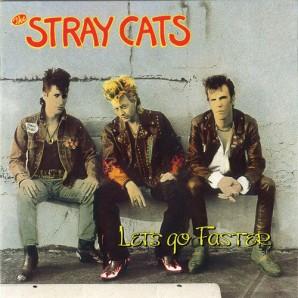 Stray Cats 'Let's Go Faster'  LP ltd. pink vinyl