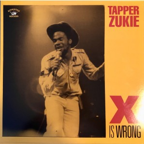 Tapper Zukie ‎'X Is Wrong'  LP