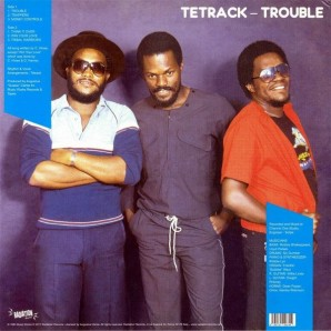 Tetrack 'Trouble'  LP