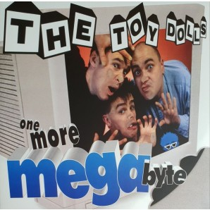 Toy Dolls 'One More Megabyte' LP ltd. blue vinyl