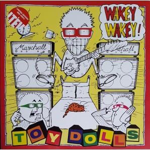Toy Dolls 'Wakey Wakey' LP ltd. red vinyl