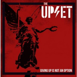 Upset 'Giving Up Is Not An Option'  LP red vinyl