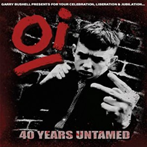 V.A. 'Oi! 40 Years Untamed'  LP ltd. smoke clear with white/black splatter vinyl
