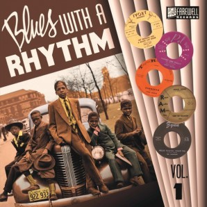 V.A. 'Blues With A Rhythm Vol.1'  10""