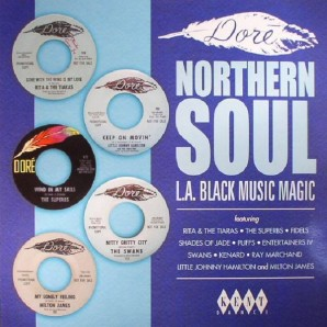 V.A. 'Dore Northern Soul - L.A. Black Magic'  LP