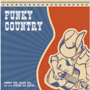 V.A. 'Funky Country Vol. 1'  LP