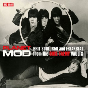 V.A. 'Planet Mod - Brit Soul, R&B And Freakbeat From The Shel Talmy Vaults'  LP