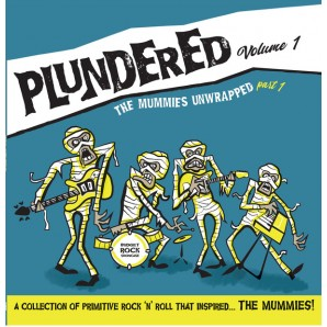 V.A. 'Plundered Volume 1 - The Mummies Unwrapped Part 1'  LP ltd, blue vinyl