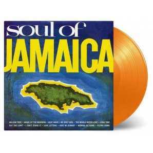 V.A. 'Soul Of Jamaica' LP orange 180g vinyl