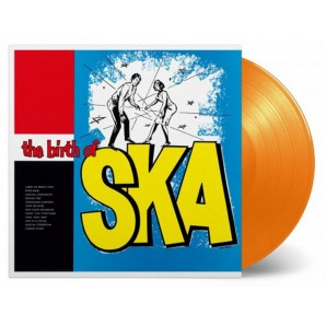 V.A. 'The Birth Of Ska'  LP ltd. orange 180g vinyl