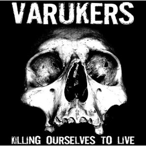 Varukers vs. Sick On The Bus ‎'Killing Ourselves To Live' + 'Music For Losers' LP ltd. silver vinyl