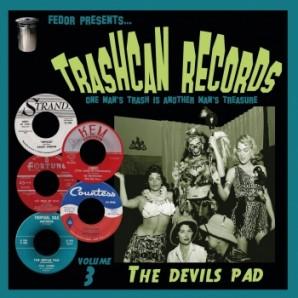 """V.A. 'Trashcan Records Vol. 3 - The Devil's Pad'  10""""LP"""