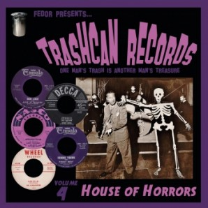 "V.A. 'Trashcan Records Vol. 4 - House Of Horrors'  10""LP"