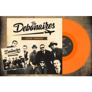 Debonaires 'Listen Forward' LP+CD ltd. orange vinyl
