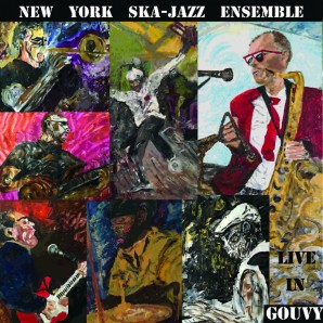 New York Ska-Jazz Ensemble 'Live in Gouvy'  LP
