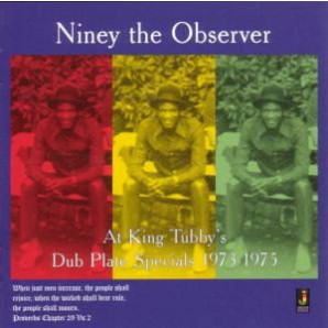 Niney The Observer 'At King Tubby's Dub'  LP