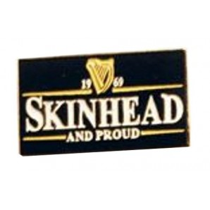 pin 'Skinhead And Proud'