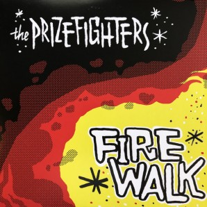 Prizefighters ‎'Firewalk' LP red vinyl