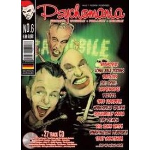 Psychomania No. 6 - Psychobilly Fanzine with CD - german language version