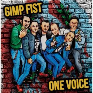 "Gimp Fist 'Family Man' + One Voice 'On the Rampage' 7"" aqua blue vinyl"