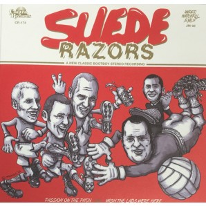"Suede Razors 'Passion On The Pitch' + 'Wish The Lads Were Here'  7"" ltd. gold vinyl"
