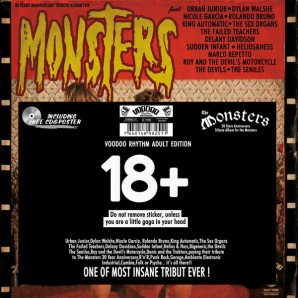 V.A. 'The Monsters: 30 Years Anniversary Tribute Album' LP+CD+Poster