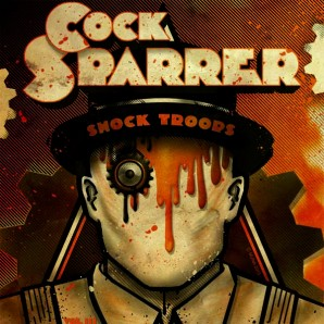 "Cock Sparrer 'Shock Troops Series Vol.3'  7"""