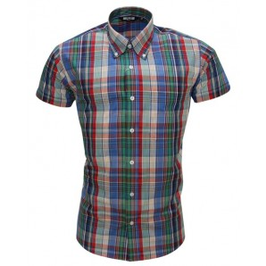 Relco Button Down Short Sleeved Shirt 'CK19', sizes S - 3XL