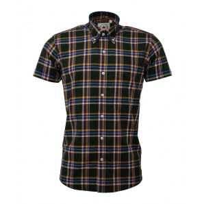 Relco Button Down Short Sleeved Shirt 'CK44', sizes S - 3XL