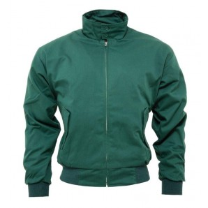 Relco Harrington Jacket bottle green, sizes S - 3XL