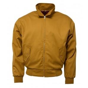 Relco Harrington Jacket mustard, sizes S - 3XL