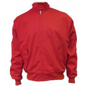 Relco Harrington Jacket red, sizes S - 3XL
