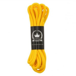 Relco 140cm Laces a match for your Dr Martens Boots - yellow