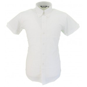 Ladies oxford weave short sleeve shirt, sizes 10/S - 18/XXL