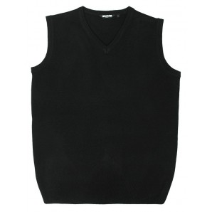 Relco Mens v-neck tank top - black, sizes M, XL