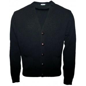 Relco Waffle Cardigan black, sizes S - XXL