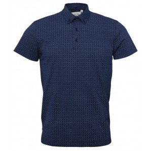 Relco Mens Navy Button down Polo shirt - Polo-6, sizes M, L, XL
