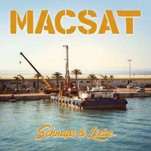 Macsat 'Schnaps & Liebe' LP+CD ltd. white vinyl