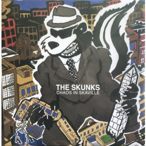 Skunks ‎'Chaos In Skaville' LP ltd. purple vinyl