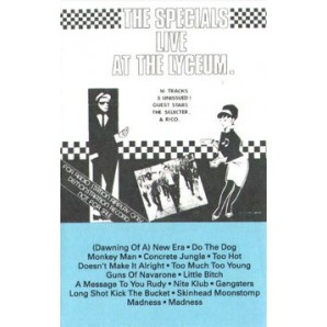 Specials 'Live At The Lyceum' MC