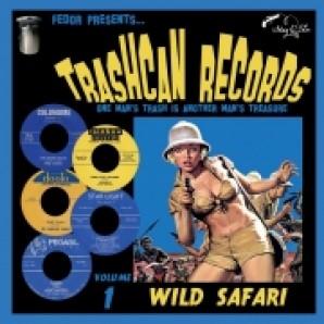 """V.A. 'Trashcan Records Vol. 1 - Wild Safari'  10""""LP"""