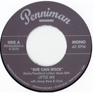Little Ike 'She Can Rock' + Earl Hines 'Now Do You Hear'  7""
