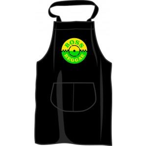 BBQ apron 'Boss Reggae', black