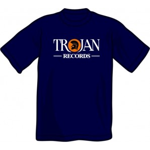 T-Shirt 'Trojan Records' black, all sizes