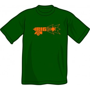 T-Shirt '1969 % Skinhead Reggae' green, sizes small - 3XL