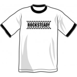 T-Shirt 'Rocksteady - ringer shirt' all sizes