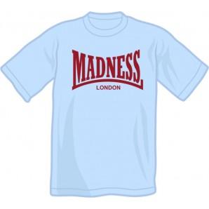 T-Shirt 'Madness' yellow, all sizes