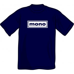 T-Shirt 'Mono' black, all sizes