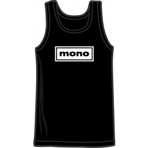 tanktop 'Mono' black, all sizes